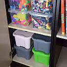 Ящик для хранения - 5 л с крышкой / Зеленый / 260х185х140 мм, фото 7