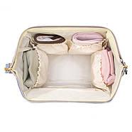 Сумка - рюкзак для мамы Цветы ViViSECRET, фото 7