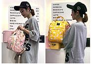 Сумка - рюкзак для мамы Цветы ViViSECRET, фото 9