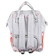 Сумка - рюкзак для мамы Полоска, фиолетовый ViViSECRET, фото 3