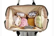 Сумка - рюкзак для мамы Полоска, фиолетовый ViViSECRET, фото 7