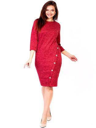 Платье с пуговицами на ноге 2788, фото 2
