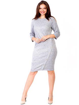 Платье с пуговицами на ноге 2788, фото 3