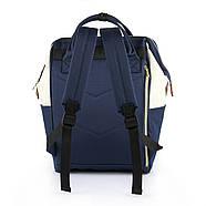 Сумка - рюкзак для мамы Красно - зеленый ViViSECRET, фото 4