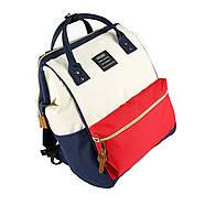 Сумка - рюкзак для мамы Красно - белый ViViSECRET, фото 2