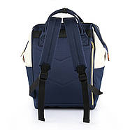 Сумка - рюкзак для мамы Красно - белый ViViSECRET, фото 4