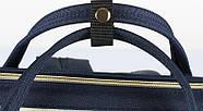 Сумка - рюкзак для мамы Красно - белый ViViSECRET, фото 10