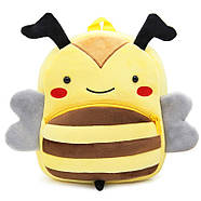 Рюкзак велюровый Пчела Berni, фото 3