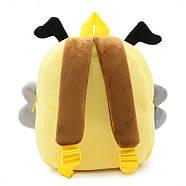 Рюкзак велюровый Пчела Berni, фото 4