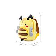Рюкзак велюровый Пчела Berni, фото 5