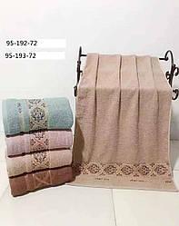 Банное полотенце. Состав: хлопок, размер 70*140 кол-во 72