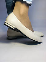 Molka. Женские туфли -балетки из натуральной кожи Размер 36,37,38,39,40.Vellena, фото 4