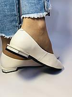 Molka. Женские туфли -балетки из натуральной кожи Размер 36,37,38,39,40.Vellena, фото 6