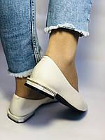 Molka. Женские туфли -балетки из натуральной кожи Размер 36,37,38,39,40.Vellena, фото 5