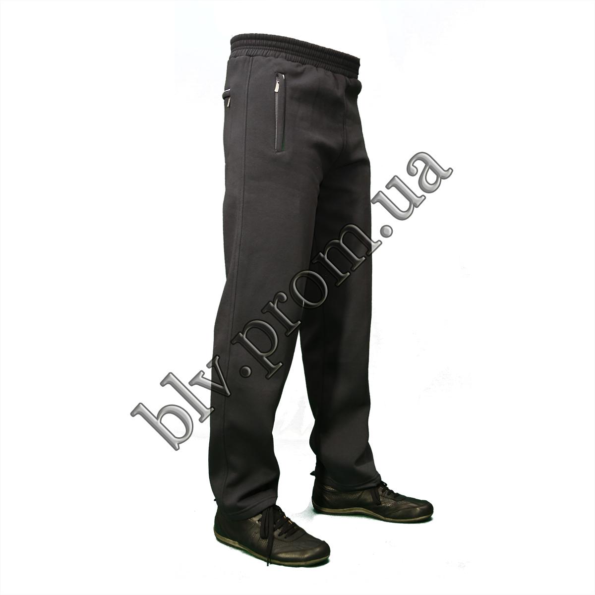 Теплые мужские брюки байкапр-во Турция KD877 Antra