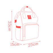 Сумка - рюкзак для мамы Панда, синий ViViSECRET, фото 7