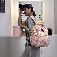 Сумка - рюкзак для мамы Радужный единорог ViViSECRET, фото 8