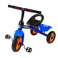 """Велосипед детский трёхколесный """"Trike""""  синий T-315"""