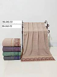 Банное полотенце.Состав: хлопок размер 70*140 кол-во 72