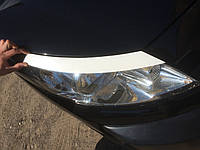 Реснички на фары Peugeot Expert (2007+) под покраску