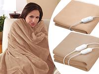 Электро одеяло с подогревом 150 на 80 см окунитесь в тепло