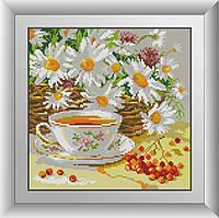 Алмазная мозаика Полуденный чай Dream Art 30277 29x29см 25 цветов, квадр.стразы, полная зашивка