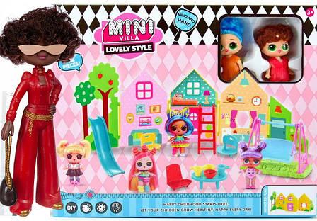 """Игровой набор \""""Куколки LOL OMG: Мини вилла с 2 куклами и аксессурами\""""  + Кукла LOL OMG 1203 в подарок, фото 2"""
