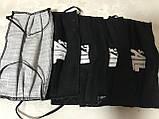 Защитная чёрная с накатом маска  на лицо хлопковая многоразовая, фото 7