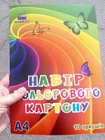 Картон цветной 10л BANZAY