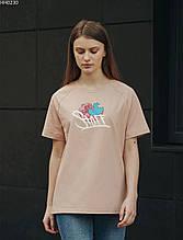 Женская футболка Staff light