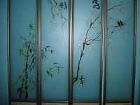 Двери раздвижные аракаловая пленка
