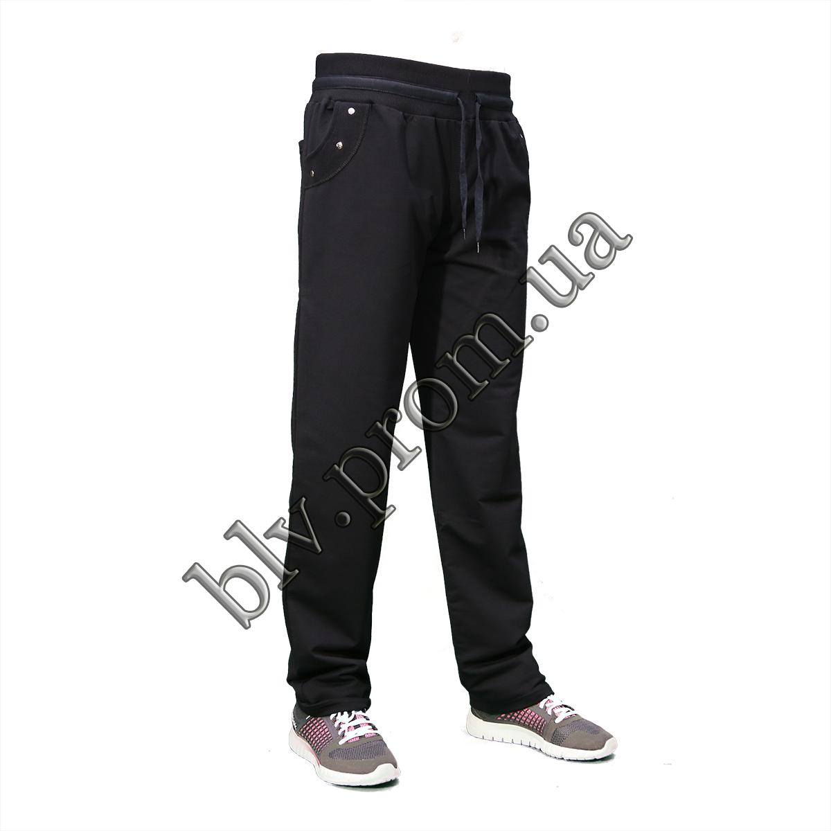 Теплые женские брюки пр-во Турция KD9764 Black