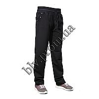Теплые женские брюки пр-во Турция KD9764 Black, фото 1