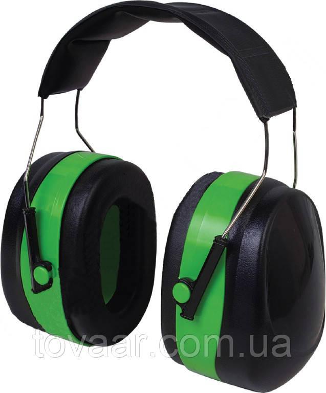 Навушники VITA з шумозаглушенням 32dB, посилений наголовник, зелені