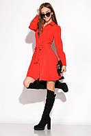 Лаконичное платье GS 120POI20008 (Красный)