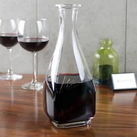 Декантер стеклянный квадратный для алкогольных напитков Arcoroc Carre 0,5 л (53673)