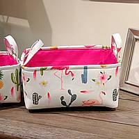 Корзина для игрушек Фламинго Berni