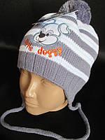 Красивые шапочки с бубончиком и аппликацией., фото 1