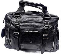 Городская мужская сумка. Качественная кожаная сумка.  Сумка в дорогу, в поездку. ГС06, фото 1