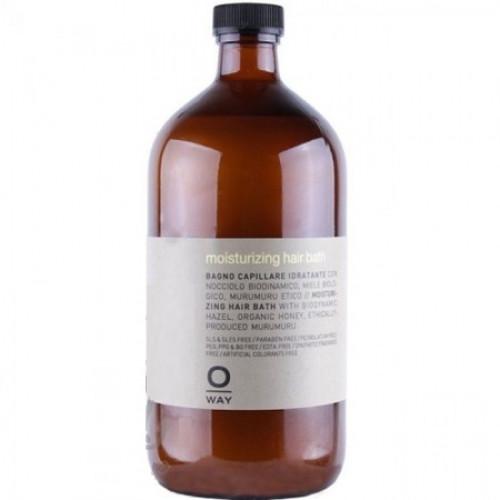 Шампунь для увлажнения волос 950 мл. Rolland Oway Moisturizing Hair Bath