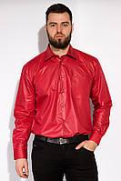 Рубашка однотонная 120PAR110 (Бордо)