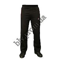 Теплые мужские брюки байка пр-во Турция KD1019 Black