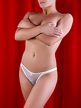 Трусы женские Diorella 5892 оптом, цвет Белый