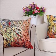Декоративные наволочки «Весенние птицы» 45×45 см (2 шт)
