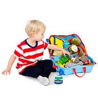 Детский чемодан на колесах Trunki George