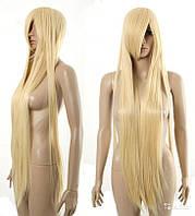 ОКОНЧАТЕЛЬНАЯ РАСПРОДАЖА ОСТАТКОВ!  Парик для хэллоуина темный блонд 1 метр