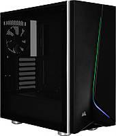 Корпус Corsair Carbide SPEC-06 RGB Tempered Glass Black (CC-9011146-WW) без БП