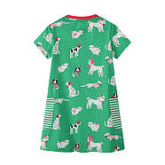 Платье для девочки Собачки Jumping Meters, фото 3