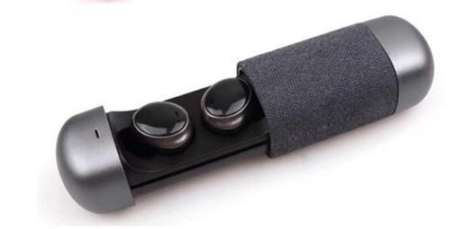Беспроводные Стерео наушники TWS 206 Bluetooth с боксом для зарядки. Черный