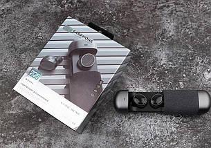 Беспроводные Стерео наушники TWS 206 Bluetooth с боксом для зарядки. Черный, фото 3